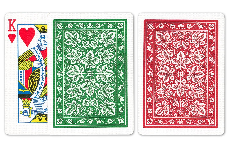 Amazon.com: Bicicleta Leaf Juego de cartas: Bicycle Poker ...