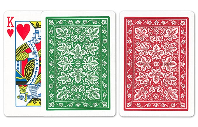 Amazon.com: Bicicleta Leaf Juego de cartas: Bicycle Poker ...