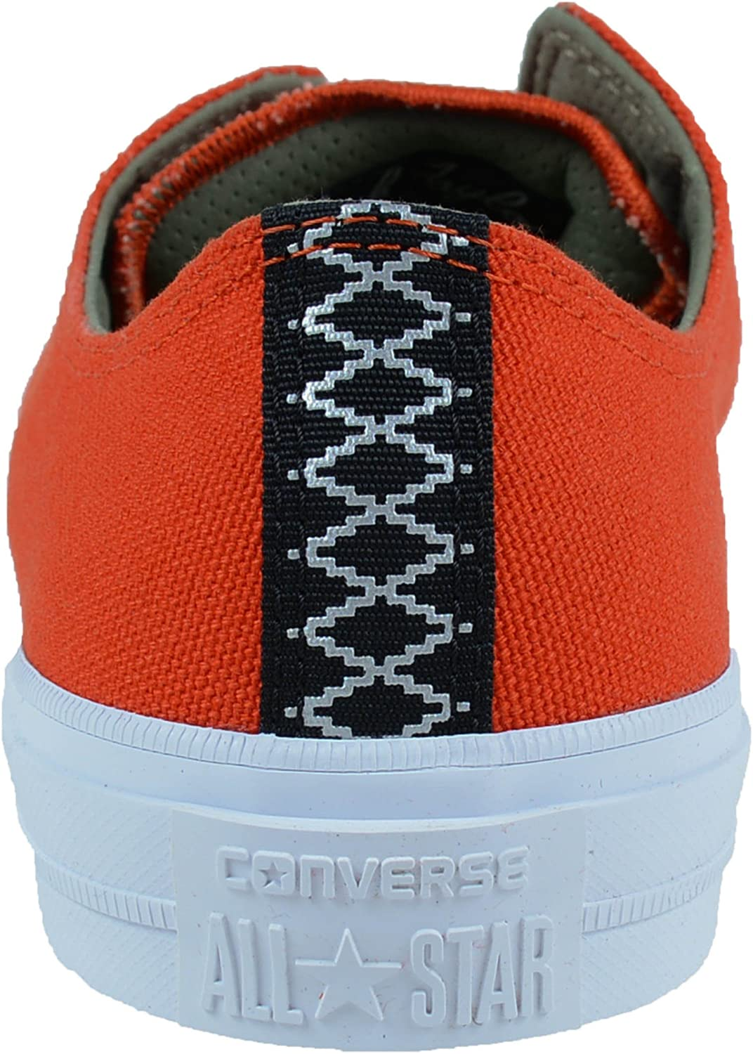 CONVERSE CHUCK TAYLOR ALL-STAR II SHIELD CANVAS OXFORDS SIGNAL RED GREEN 153539C