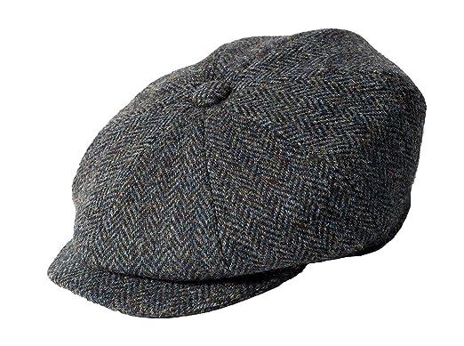 Failsworth Harris Tweed Newsboy Cap at Amazon Men s Clothing store  bda672dd36d