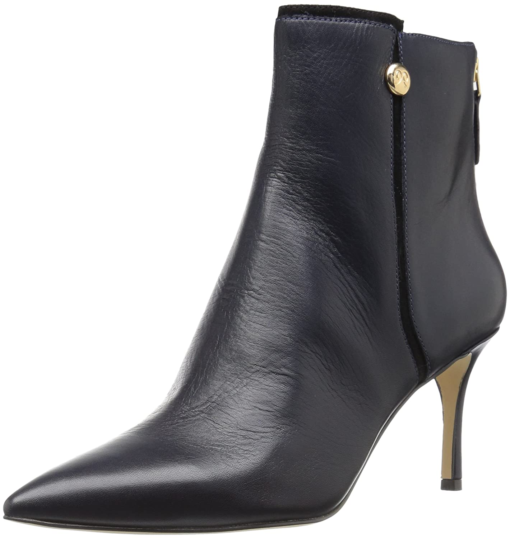 Nine West Women's Monsoon Ankle Boot B01MUZDIDU 9 B(M) US Navy/Black