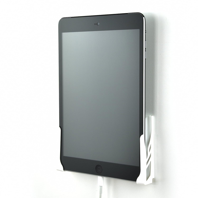 Dockem Koala Wall Mount 2.0: Damage-Free Universal Dock for Smartphone, Tablet, eReader: for iPad 1, 2, 3, 4, Air, Mini, iPad Pro, Samsung Galaxy Tab/Note, Google Nexus, Microsoft Surface (White)