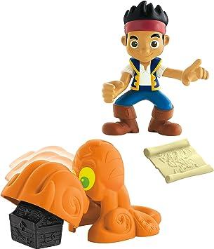 Jake y los Piratas - Pack con Figuras y Accesorios, Jack (Mattel ...