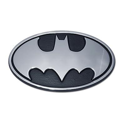 Batman Oval Chrome Emblem: Automotive