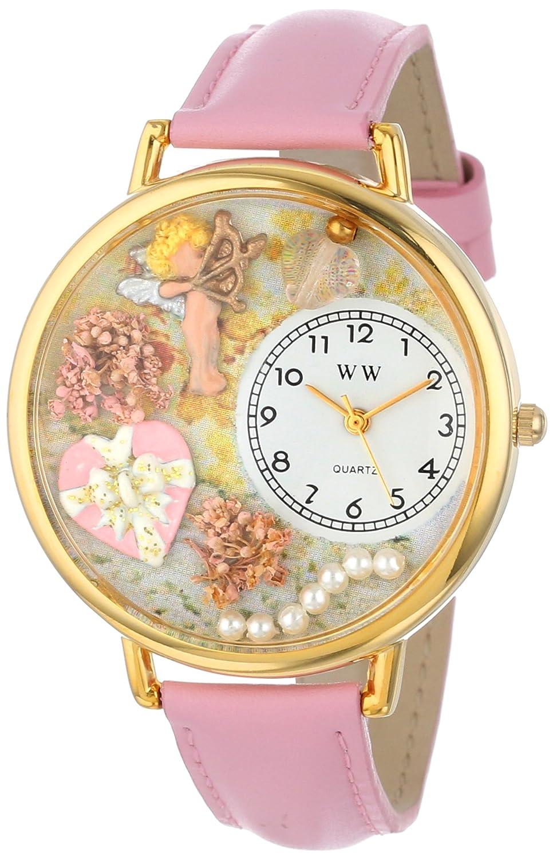 Whimsical Watches G-1220024 - Reloj analógico de Cuarzo Unisex, Correa de Cuero