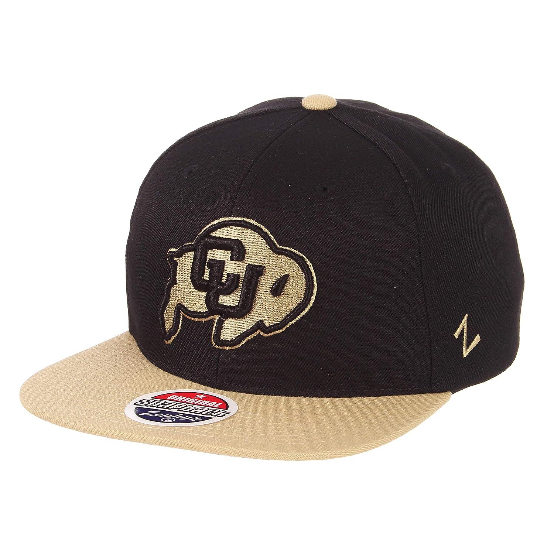 1b70feeb829 Amazon.com   ZHATS NCAA Colorado Buffaloes Men s Z11 Invert Snapback ...
