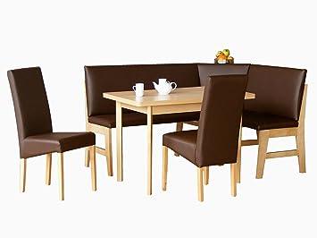 Leather Breakfast Nook Kitchen Set Dining Set Corner Nook Zurich