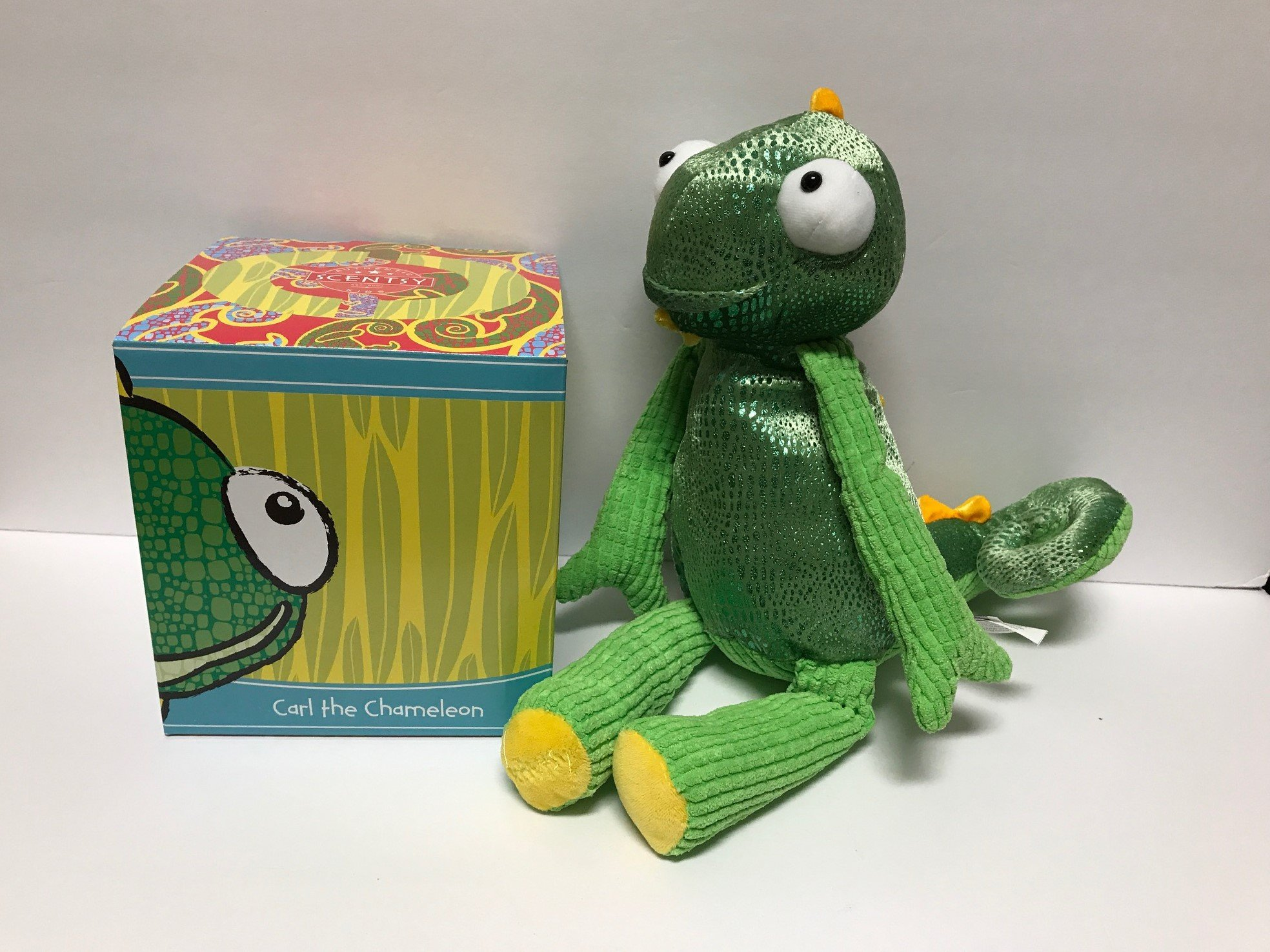 Scentsy Buddy Carl the Chameleon
