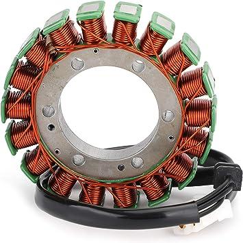 Artudatech Motorrad Lichtmaschine Magneto Stator Spule Motorrad Magneto Generator Motor Stator Spule Zündgenerator Für Trium Ph Day Tona 600 650 Speed Four 600 Tt600 2003 2005 Auto
