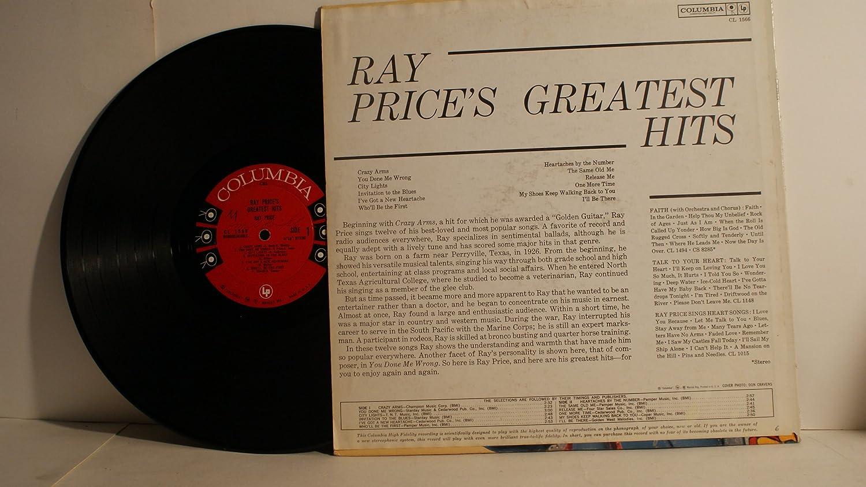 - RAY PRICE - greatest hits COLUMBIA 1566 (LP vinyl record) - Amazon.com Music