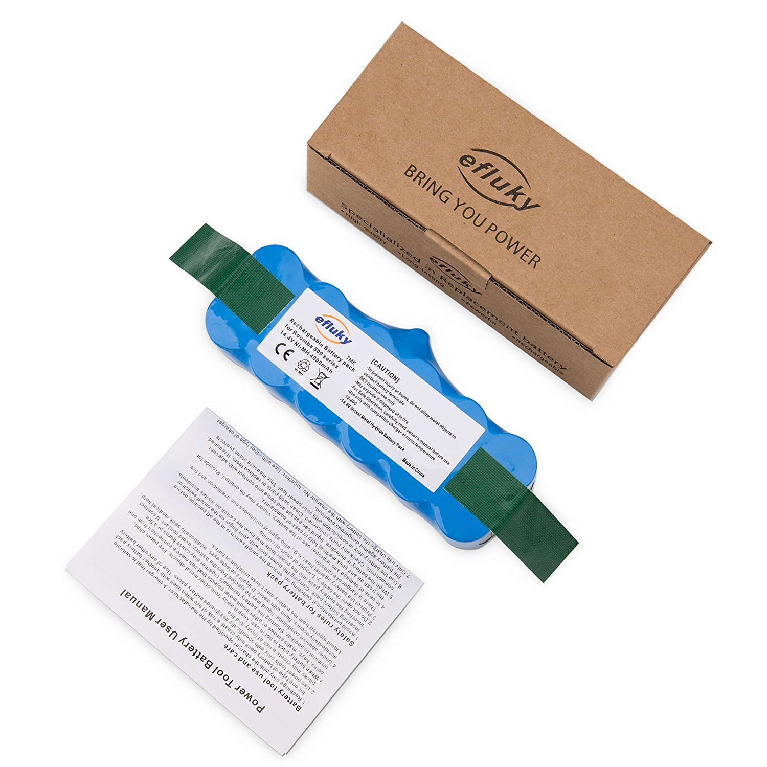 efluky 3500mAh Ni-MH Replacement Battery for iRobot Roomba ...