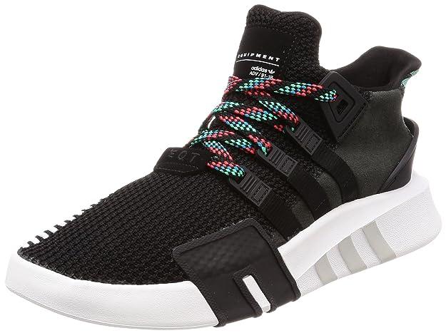 Adidas EQT Bask ADV, Zapatillas de Deporte para Hombre, Gris (Carbon/Carbon/Reauni 000), 47 1/3 EU