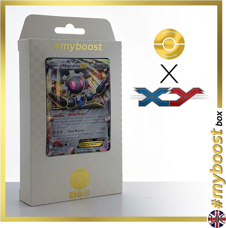 MAGEARNA EX XY175 - #myboost X XY - Caja de 10 Cartas Pokémon ...