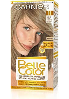 garnier belle color coloration permanente blond 11 blond clair cendr naturel lot de - Coloration Cendr