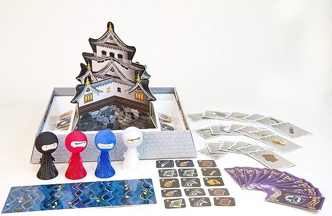 Flying Ninja Kids Trenes de tablero de la mesa juego de mesa, motricidad y Focus: Amazon.es: Deportes y aire libre