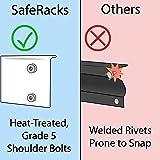 SafeRacks Garage Storage Rack | Steel Shelving Unit