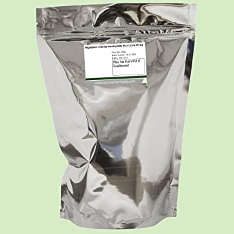 Cloruro de magnesio hexahydrate (sal del mar muerto) 250 g, incluye entrega