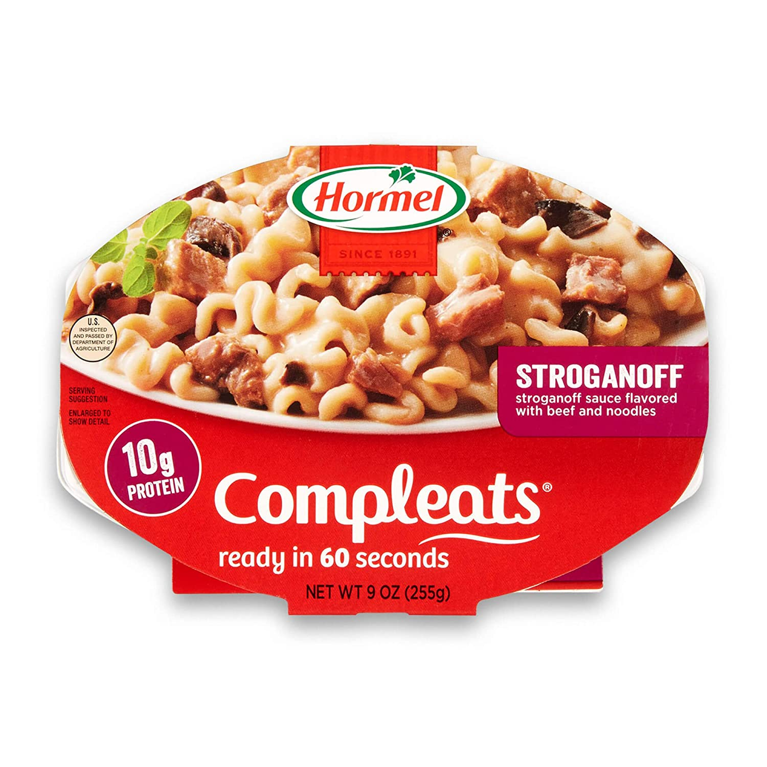Compleats Microwave Meals Beef Stroganoff (Pack Of 6)