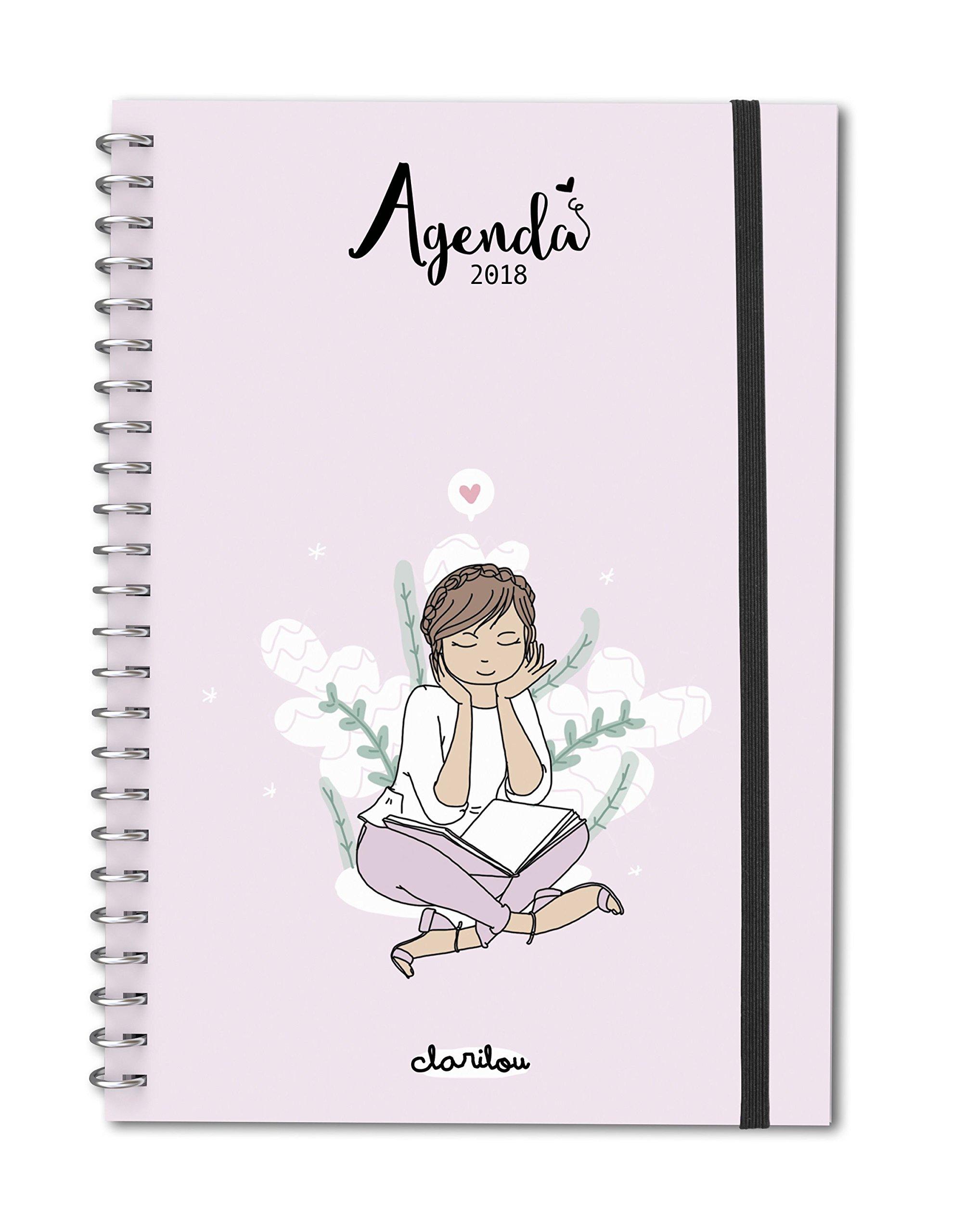 Agenda anual 2018 Clarilou: Clarilou: 9788494726903: Amazon ...