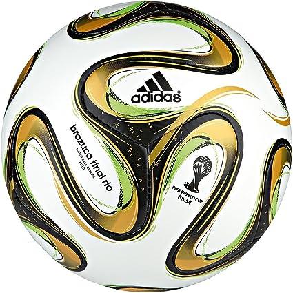 adidas Brazuca Final Rio Mini - Balón de fútbol, diseño oficial de ...