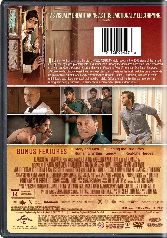 Hotel Mumbai Edizione Stati Uniti Amazon It Film E Tv