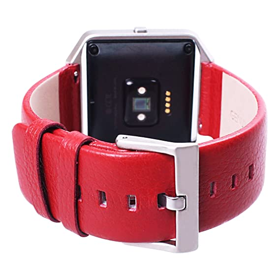 for Fitbit Blaze Bands Smartwatch Leisure Full Grain Cow Leather Genuine Leather Replacement Wristband