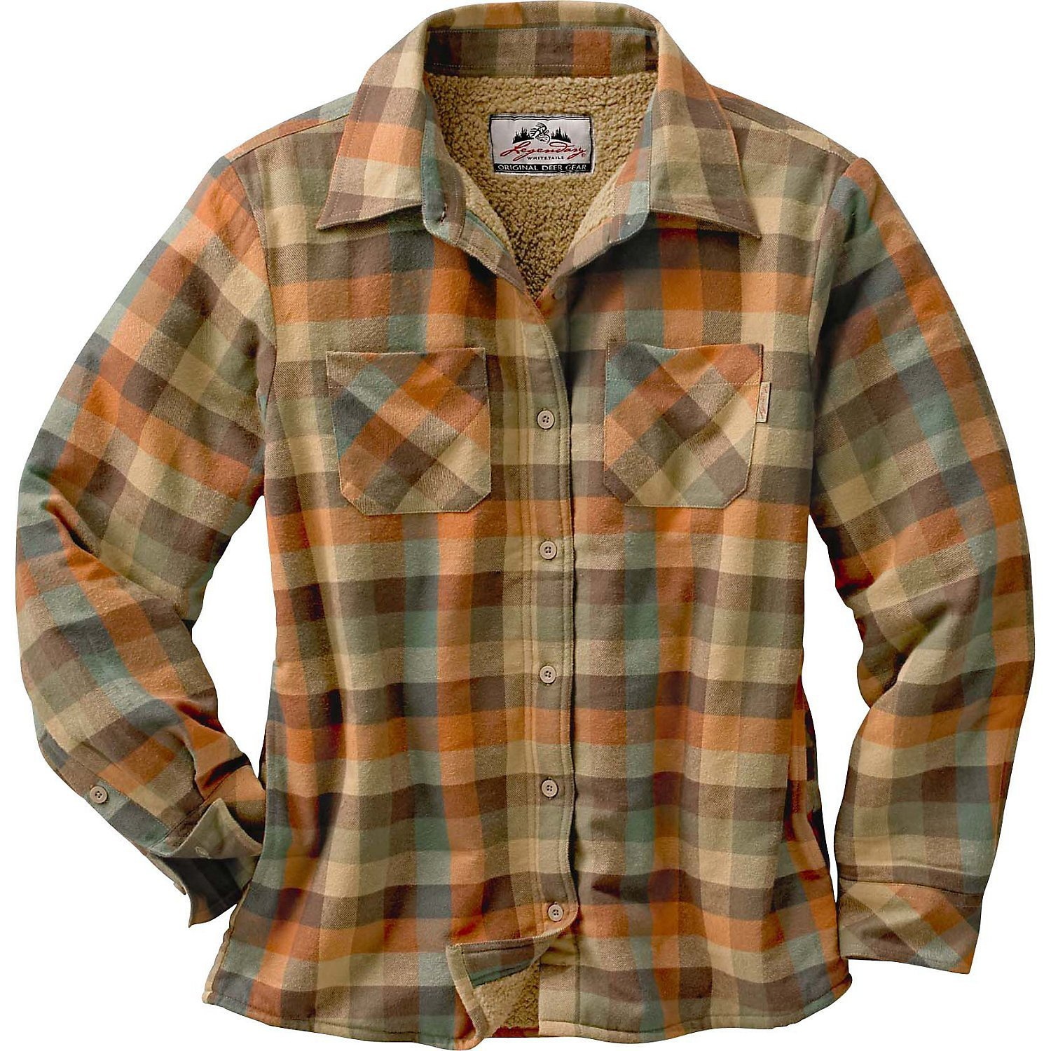 Legendary Whitetails Women's Open Country Shirt Jacket Rustic XX-Large