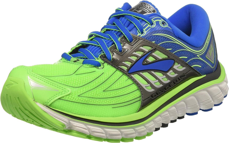 Brooks Glycerin 14, Zapatos para Correr para Hombre, Verde ...