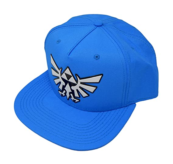 54090082b4c Image Unavailable. Image not available for. Color  Nintendo Zelda Chrome  Weld Ballistic Nylon Snapback Baseball Hat
