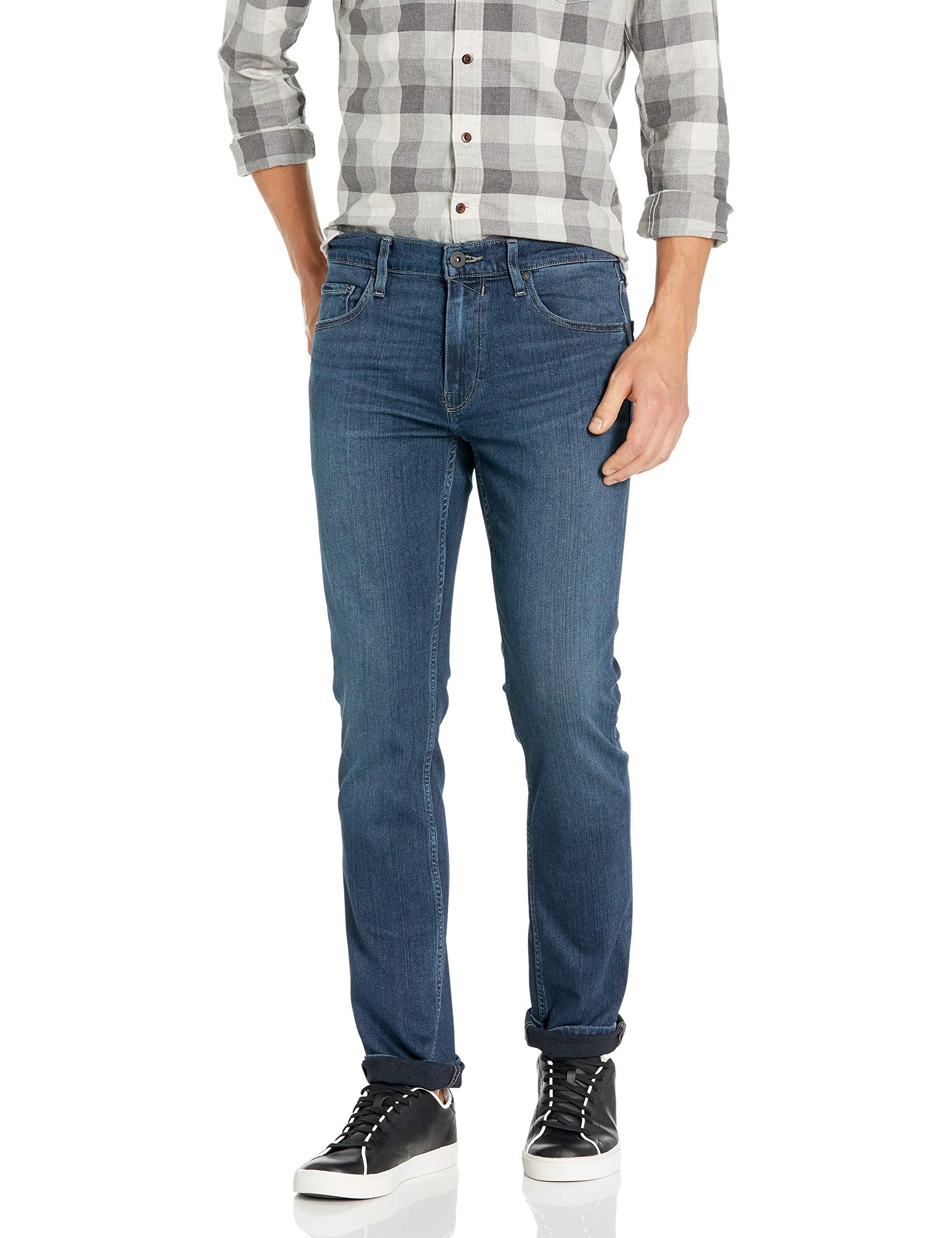 PAIGE Mens Federal Slim-fit Jean Vintage Quartz