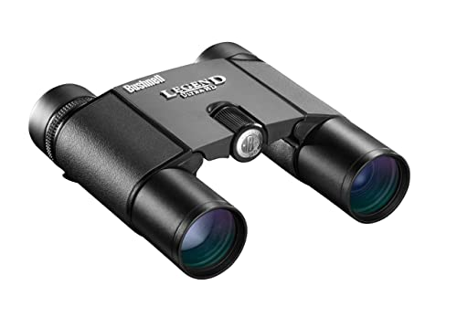 Bushnell Legend Ultra HD Compact Folding Roof Prism Binoculars, 10 x 25-mm, Black