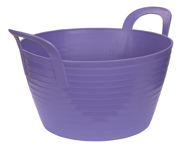 Kerbl Flexbag Seau Flexible pour Cheval Violet 12 L 323531