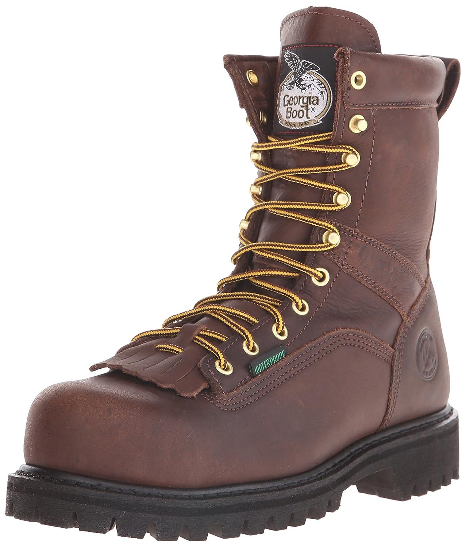 Georgia Boot メンズ B006EB37NQ 14 D(M) US|チョコレート チョコレート 14 D(M) US