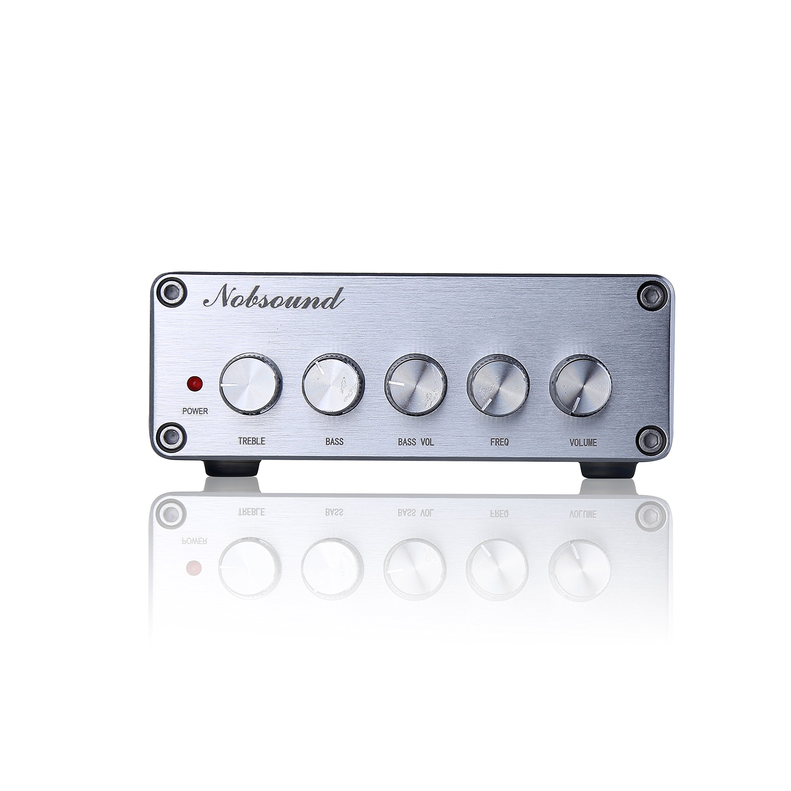 Nobsound HiFi TPA3116D2 2.1 Channel Digital Audio Power Amplifier Stereo Amp 2×50W+100W Subwoofer Treble Bass Independent Adjustment (with power supply) by Nobsound (Image #5)
