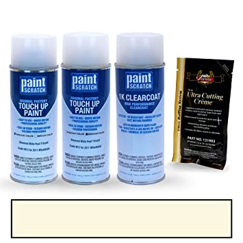 PAINTSCRATCH Diamond White Pearl Tricoat W13 for 2011 Mitsubishi Outlander - Touch Up Paint Spray Can