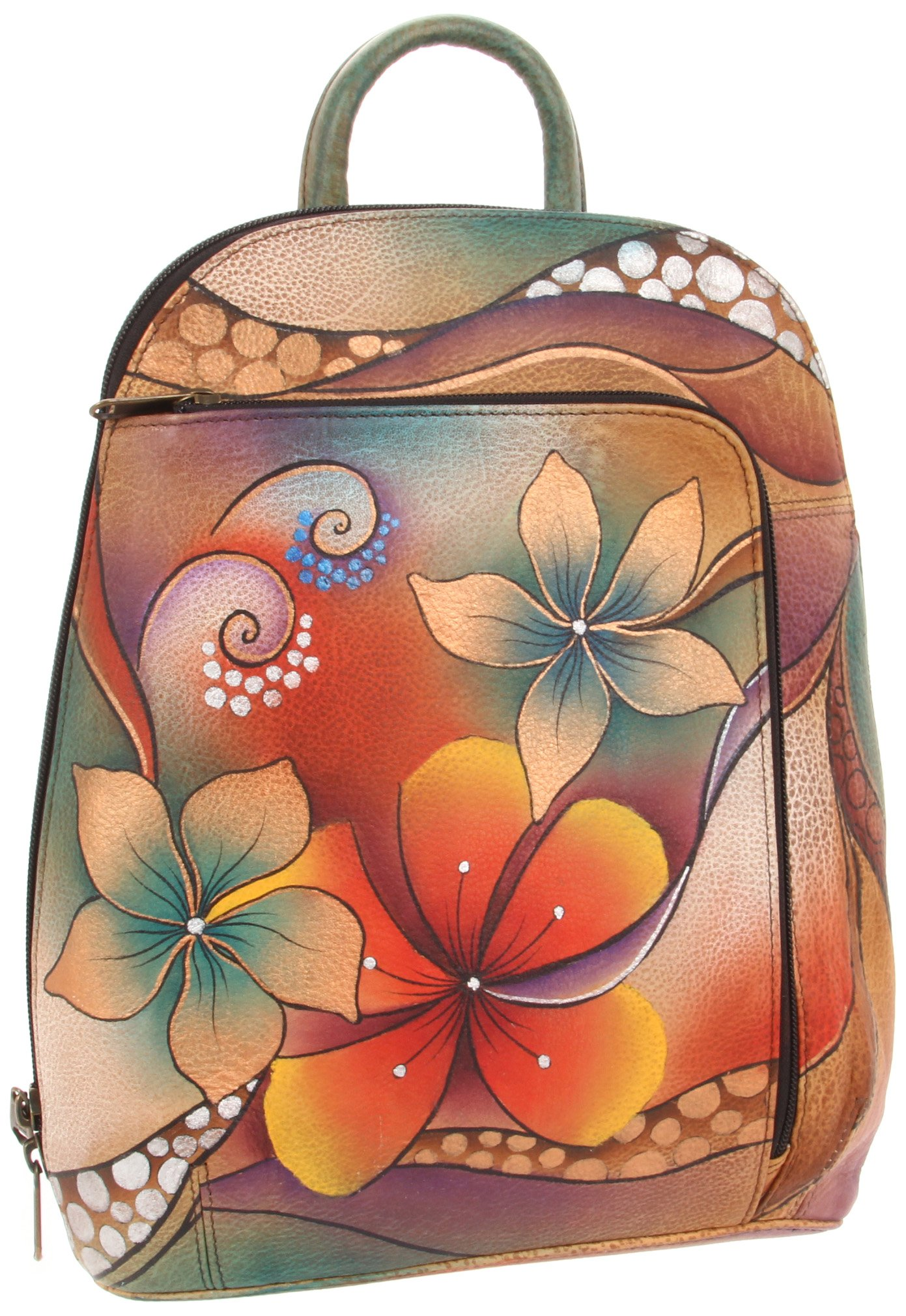 Anuschka 487 TRB Backpack,Tribal Bllom,One Size