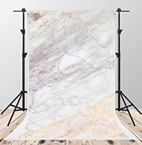 Kate 5x7ftVintage Gray Marble Texture Photography Backdrops Soft Fabric Old Marble Wall Stone Background Booth Art Design Abstract Portrait Photoshoot Props