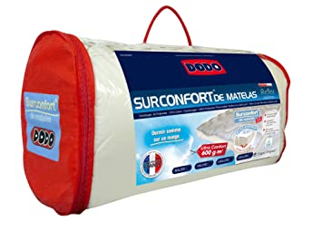 Do Wrap Performance Headwear Dodo Surconfort Reflex Eco Label - Protector de colchón nórdico (160 x 200 cm): Amazon.es: Hogar