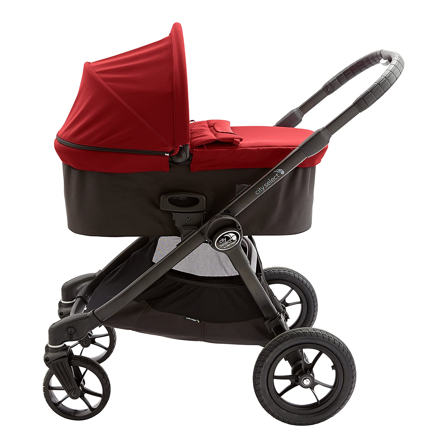 Red Free Shipping! Baby Jogger Deluxe Pram Bassinet New