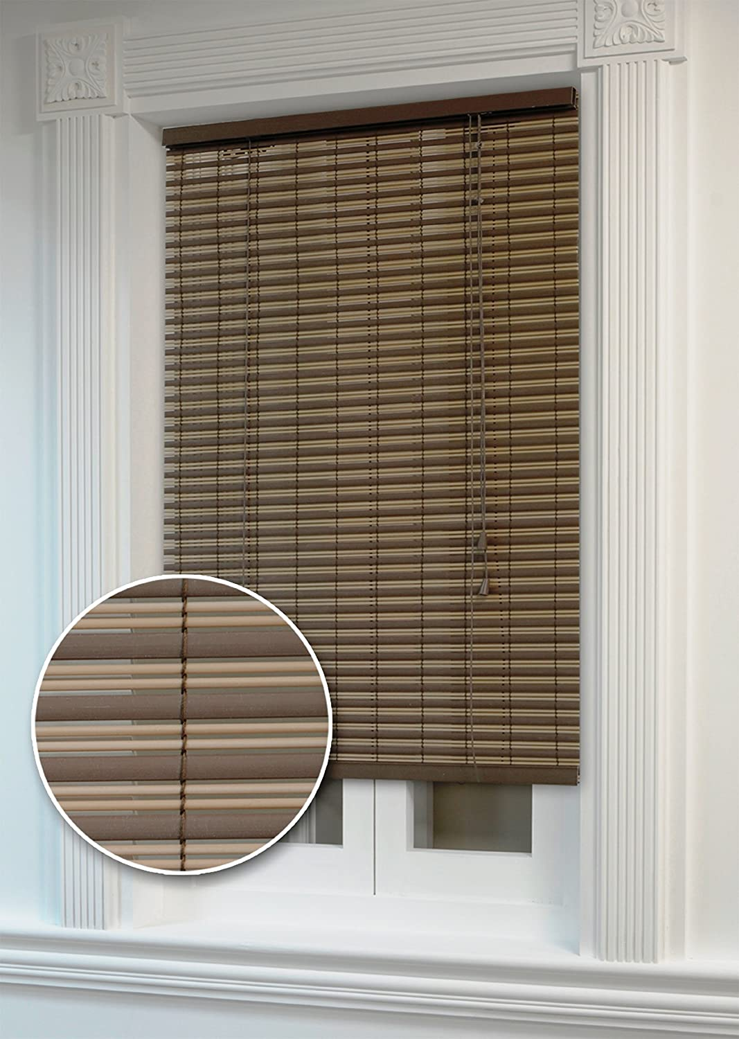 36 inch window blinds - Amazon Com Achim Home Furnishings Ashland Roll Up Shade 30 Inch By 72 Inch Cocoa Almond Home Kitchen