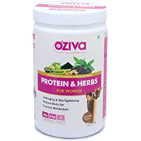 OZiva Protein & Herbs for Women, Chocolate, 17 Servings