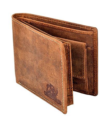 BULL KRAFT Brown Genuine Leather Casual/Formal Wallet for Men/Boy  Card Slot   8  Men's Wallets