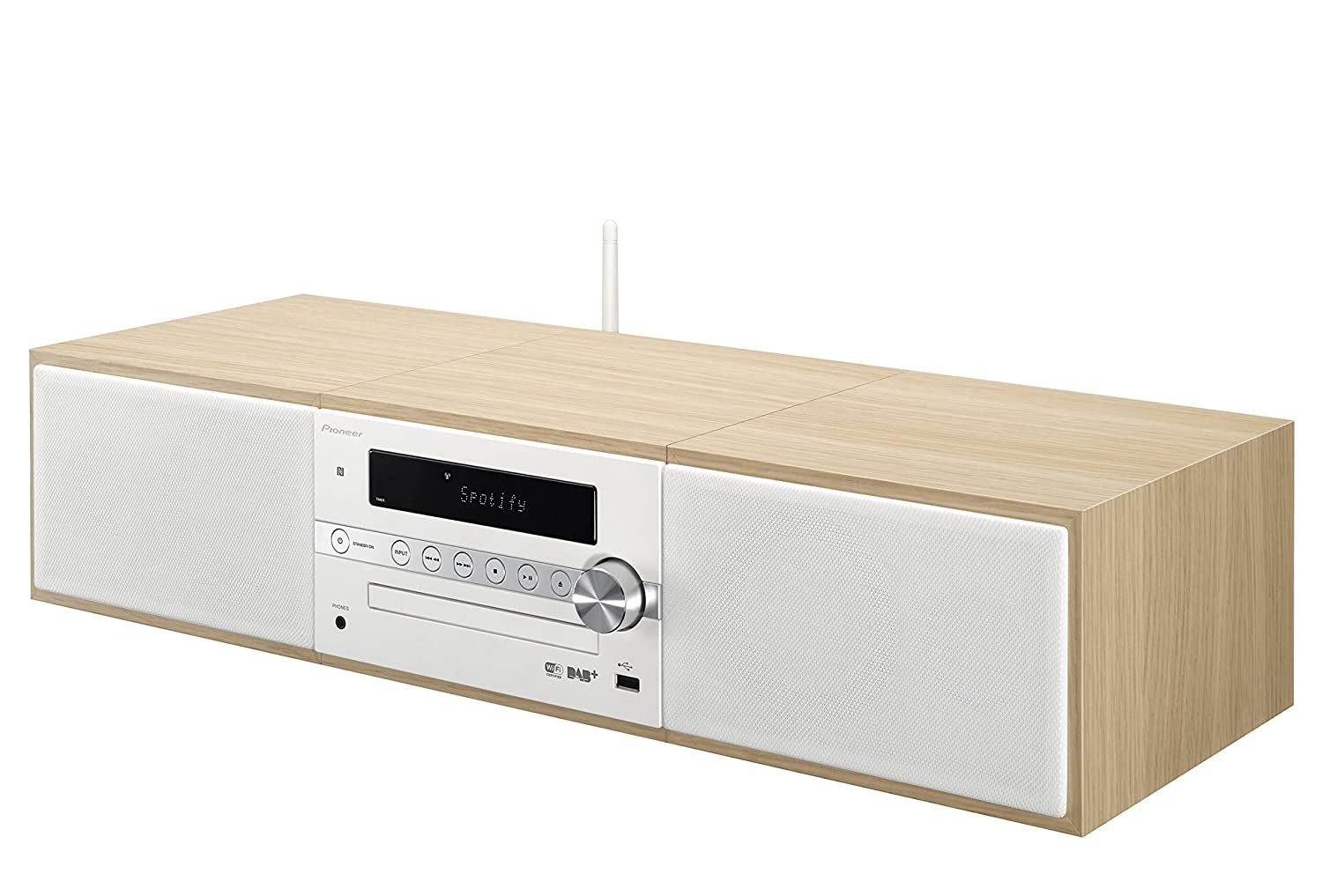 Pioneer X-CM66D-B - Sistema Casual Micro (con Radio Digital DA, spotify, Radio Internet, Bluetooth y WiFi)