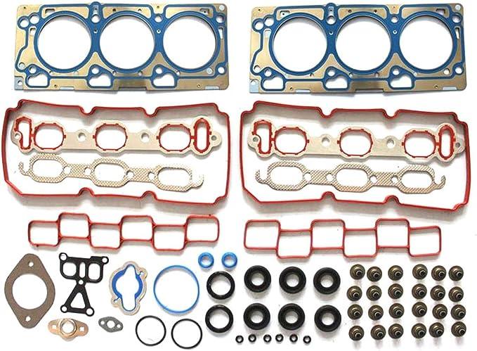 V M 07-10 Chrysler 3.5L V6 SOHC 24v VIN G Head Gasket Set Bolt Kit Fits