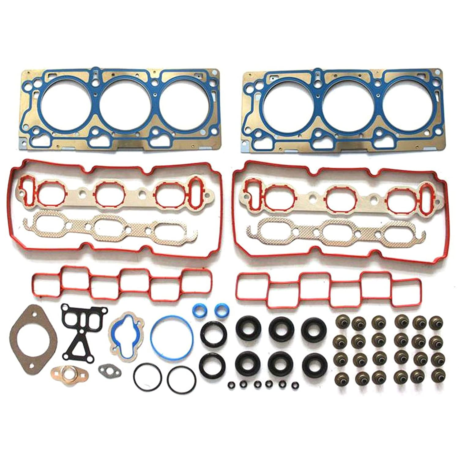 SCITOO Compatible fit for Head Gasket Kits Dodge/ Charger Avenger Chrysler/ Sebring 2007-2009 Engine Head Gaskets Automotive Replacement Gasket Set
