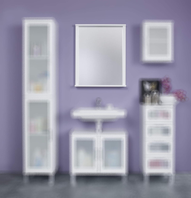 trendteam Cuarto de baño Espejo de pared Florida, 63 x 78 x 12 cm ...