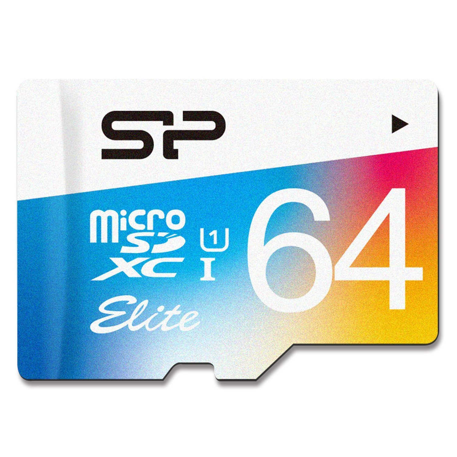 Silicon Power 64GB MicroSDHC UHS-1 Memory Card Adapter (SP064GBSTXBU1V20AI)