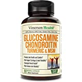 Glucosamine with Chondroitin Turmeric MSM Boswellia. Supports Occasional Joint Discomfort Relief. Helps Inflammatory Response