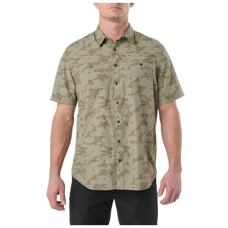 5.11 Tactical Series Crestline Camo Shirt DESERTHEMD TROPENHEMD S Leichte Herren