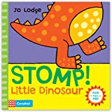 Stomp! Little Dinosaur: An interactive story book (Little Movers) (Push, Pull, Pop!)
